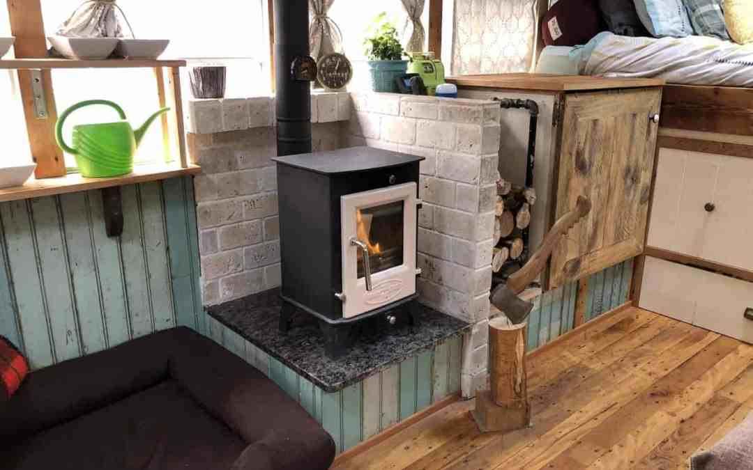 The Mobile Wood Stove Heating Our Bus Conversion The