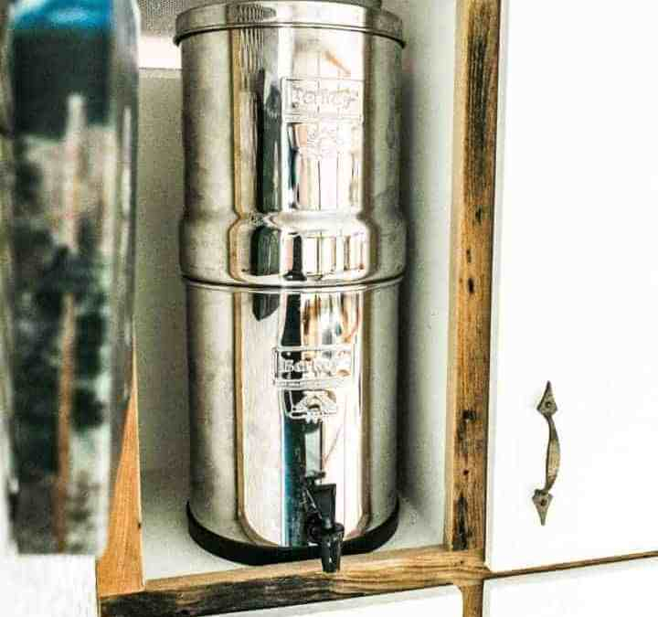 our big berkey water filter | the wild drive life | tiny living ...