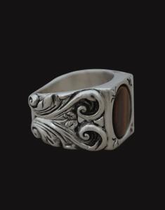 tiger's eye ver ring