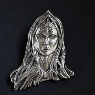 Bespoke silver pendant