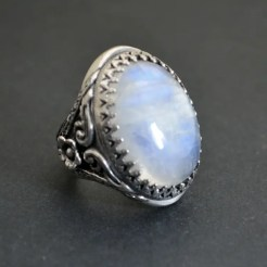 Bespoke Moonstone Ring