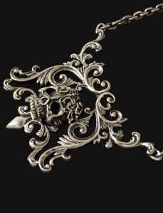 Skull and Ornaments Necklace