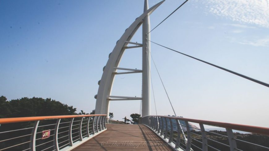 Saeyeongyo Bridge in Jeju Island, South Korea