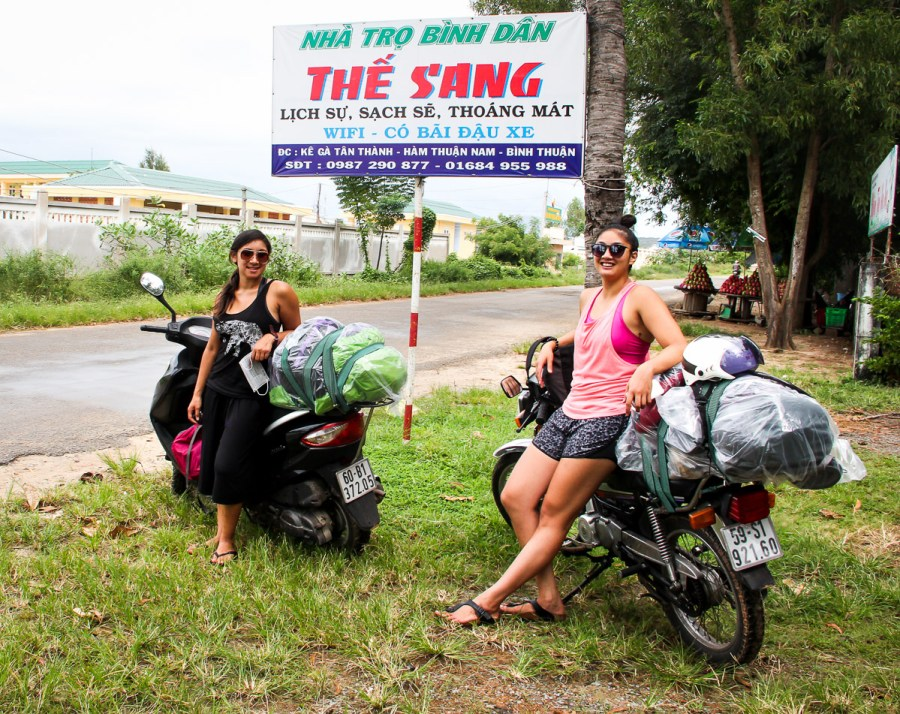 Traveling Vietnam by Motorbike is the best way to see the country, even if you are a girl.