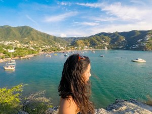 solo female travel through Colombia