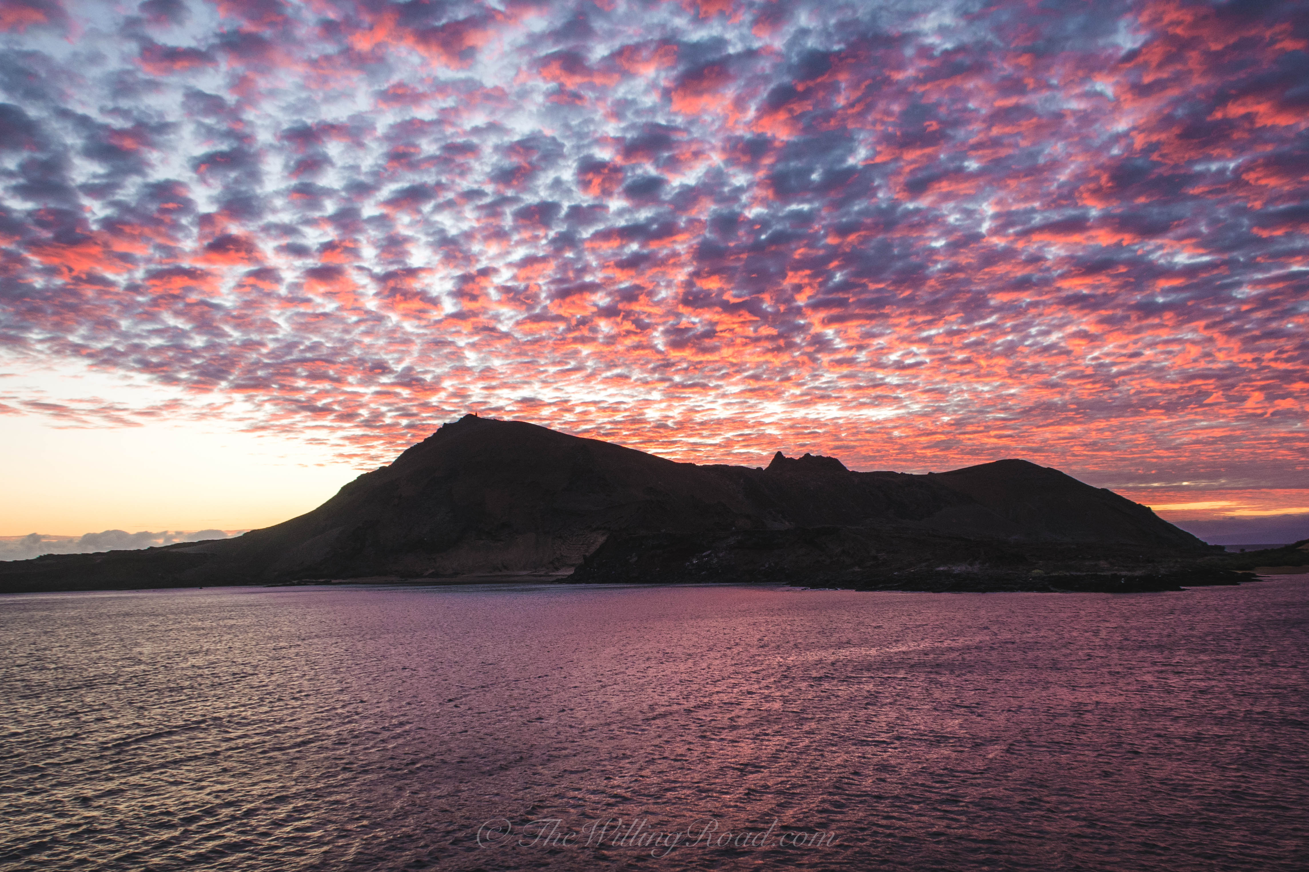 Go to the Galapagos and see the sun rise