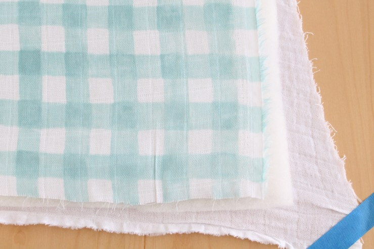 How to Sew a Cotton Gauze Baby Quilt – The Willow Market