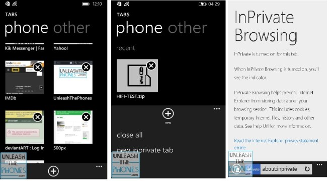 IE 11 WP8.1