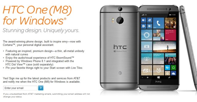 HTC One AT&T
