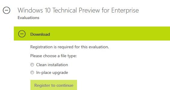 Windows 10 Build 9879 ISO