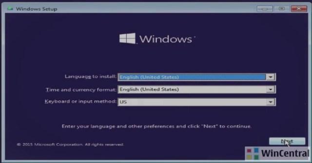 Windows 10 clean install 1