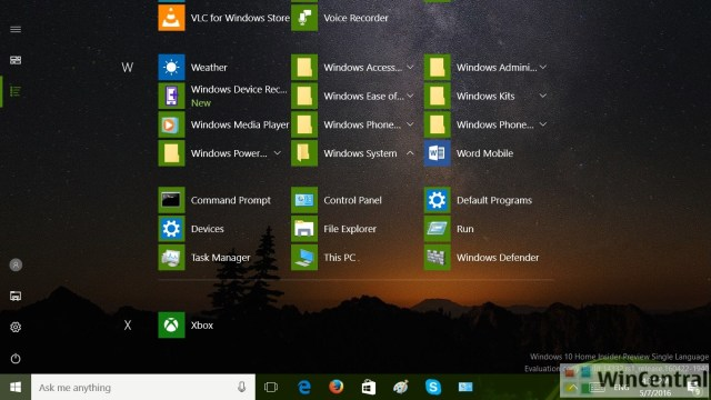 Windows 10 Control Panel 1
