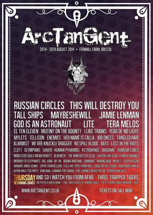 ArcTanGent poster