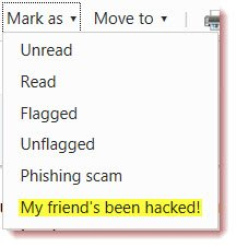 hotmail report hacked Hotmail introduces My friends been hacked security feature