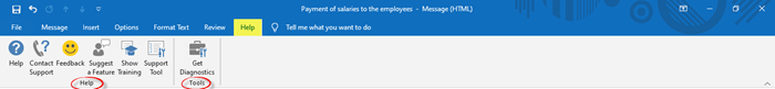 How to create a new email in Outlook