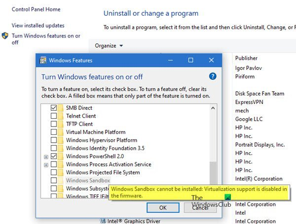 Disable Networking in Windows Sandbox