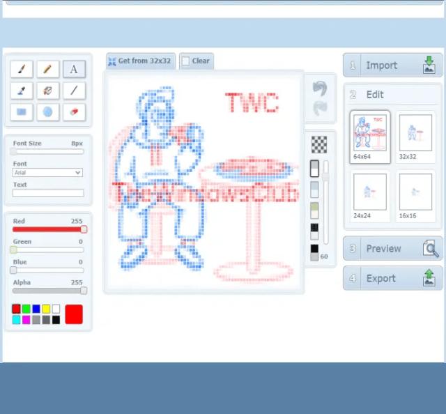 X-Icon Editor service