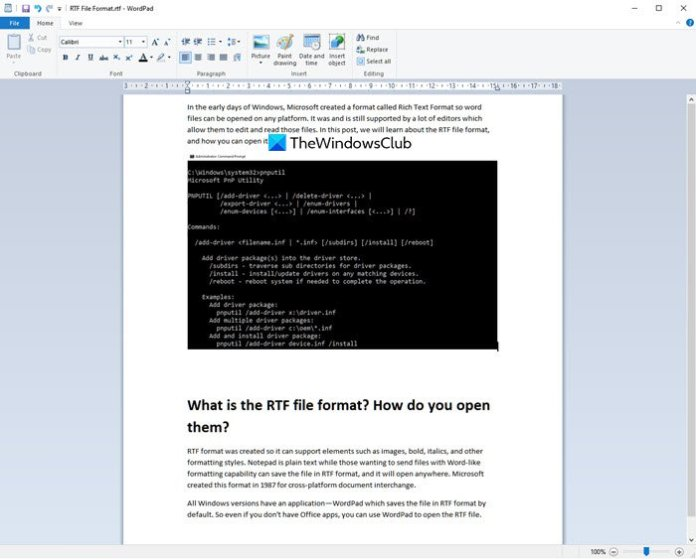 What is the RTF file format? How do you open them?