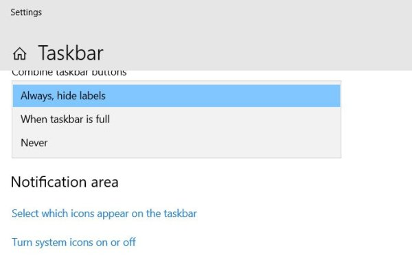 How to Group Taskbar Icons in Windows 10