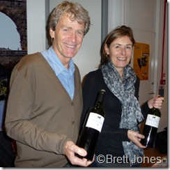 10023 J Hegarty & P Crane, Hegarty Chamans, Languedoc Outsiders Tasting London 10 Nov 10