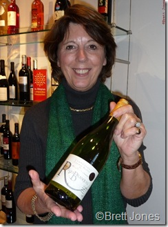 10031 Caryl Panman, Ch Rives-Blanques, Languedoc Outsiders Tasting London 10 Nov 10