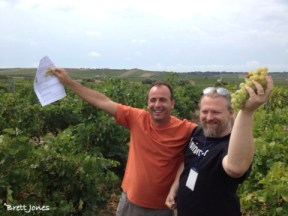 Winemakers and bloggers, Sicily