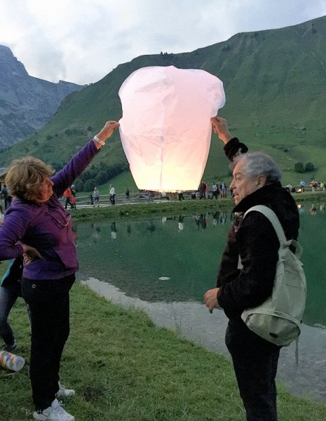Lake Festival in the Aravis