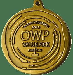 Oregon Wine Press Value Pick medal