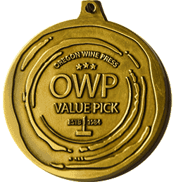 Oregon Wine Press Value Pick medal