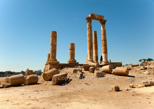 The Temple of Hercules, Amman, Jordan