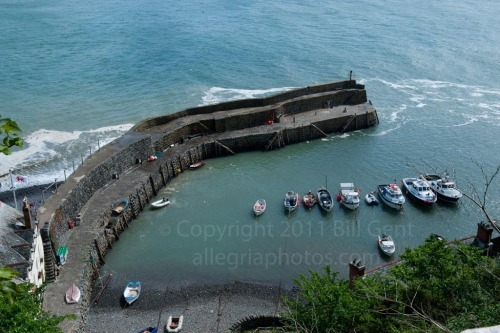 The fishing village of Clovelly