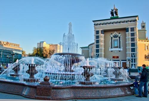 Opera House and fountain