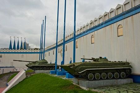 Facade of bunker entrance