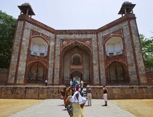 Entrance to Humayun's Tomb, Delhi