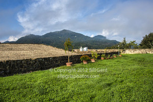 The remains of the rooftop garden, Brunella Fortress, Aulla Lunigiana
