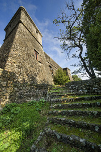 Side towers of the Brunella fortress, Aulla, Lunigiana