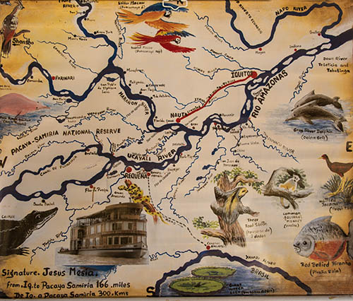 Map and itinerary