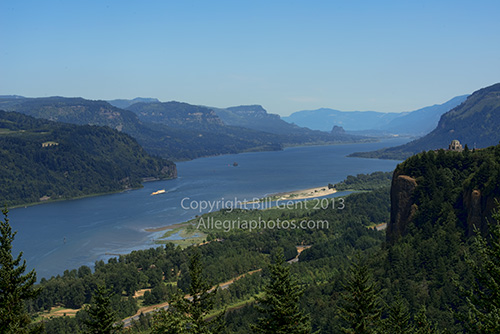 The Columbia River Gorge, Oregon
