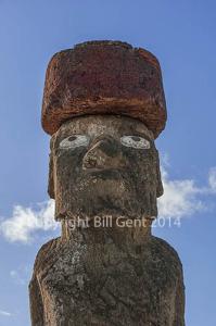 Ahu Ko Te Riku of the Ahu Tahai group of statues