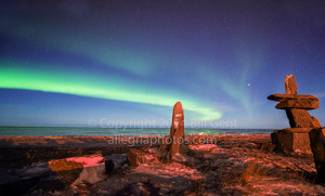 The Northern Lights in Churchill, Canada