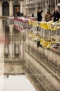 Piazza San Marco underwater
