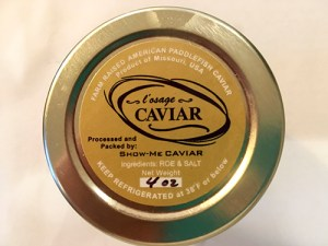 L'Osage Caviar from the Ozarks, MO