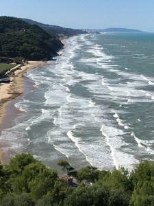 The Gargano Peninsula north of Vieste