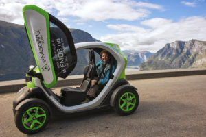 French Renault Twizy