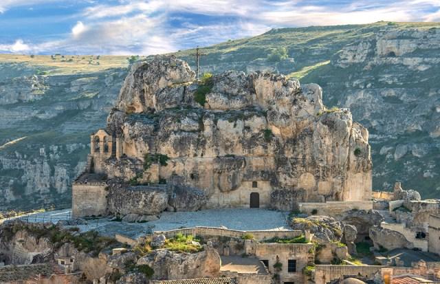 Rupestrian Church of Madonna di Idriss, Matera