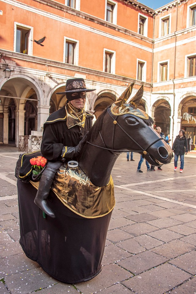 One of the costumes at Venice Carnival ©BillGent