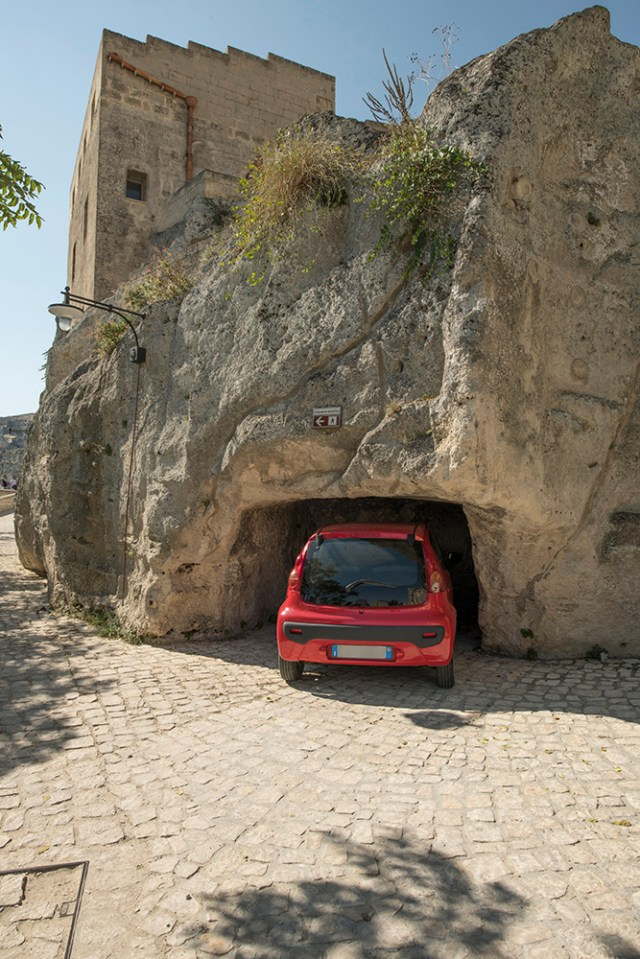 Parking in Matera can be a challenge