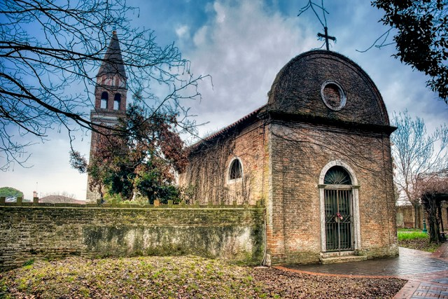 The 11th-century church of St. Michael Archangel on Mazzorbo