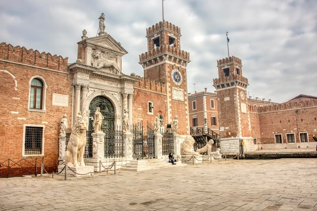 The southern gate of the Arsenale
