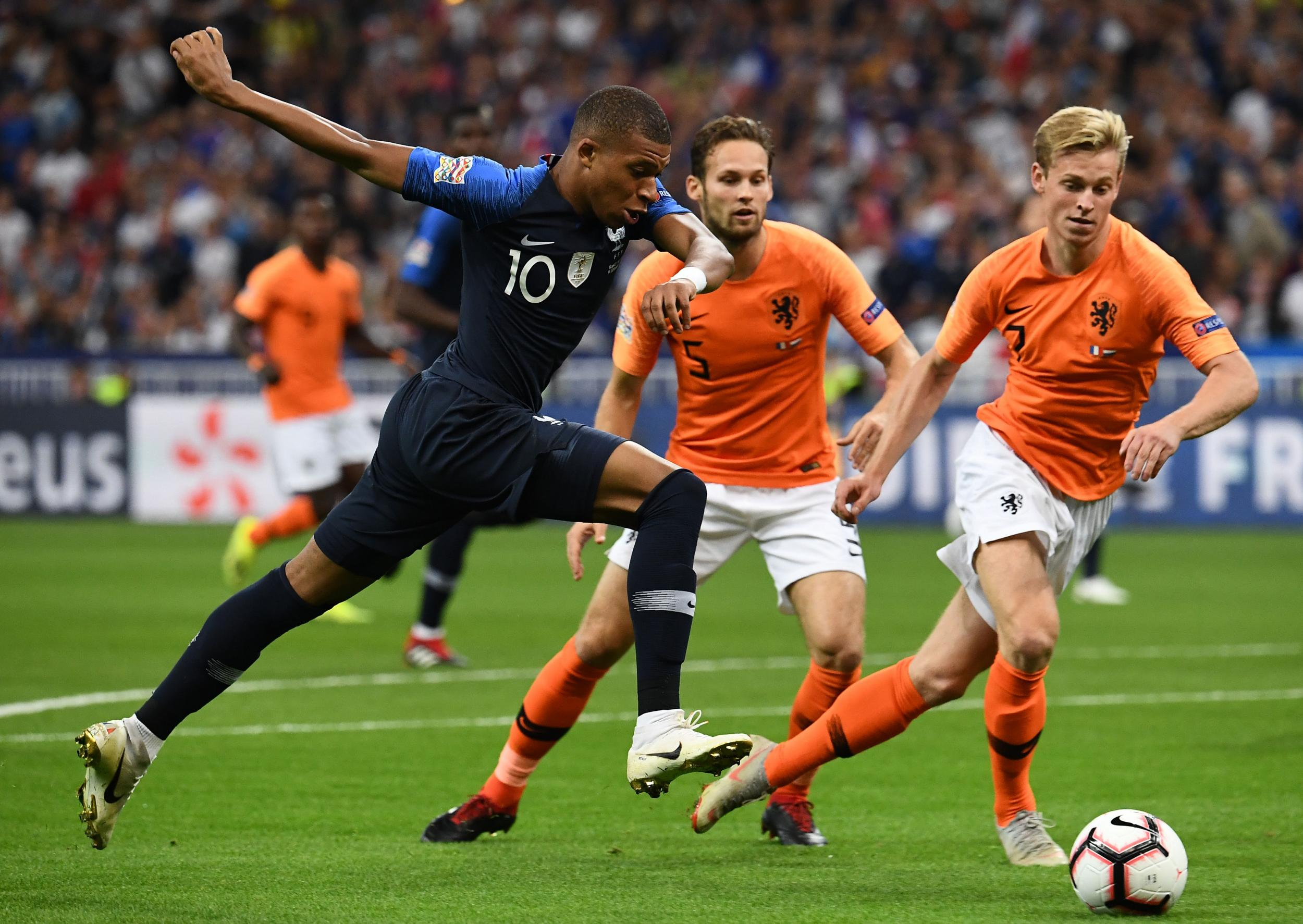France defeated Netherlands